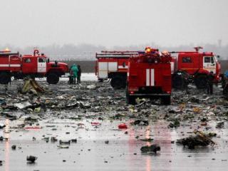крушении Boeing в Ростове