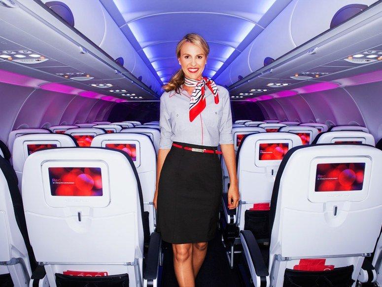 Virgin america in flight dating