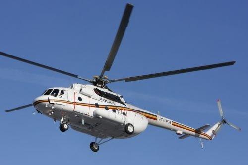 Казанский вертолет Ми-17В отправили милиции Кении