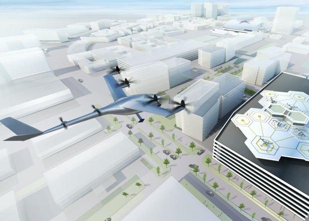 Uber разработает летающие такси к 2020 году