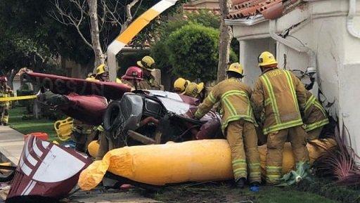 Вовремя крушения вертолета вЮжной Калифорнии погибли три человека