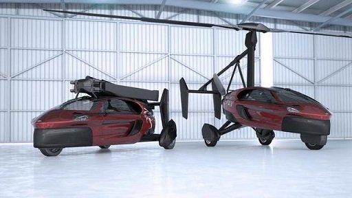 На автосалоне в Женеве представлен летающий автомобиль готовый к серийному выпуску (видео)