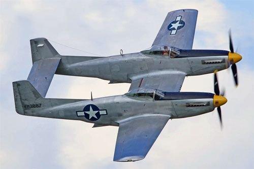 Twin Mustang выставлен на продажу по цене 5 обычных самолетов  Mustang
