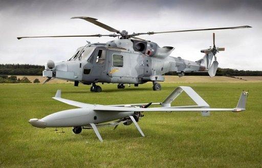 Концерн  Leonardo показал боевые возможности совместных действий вертолета и БПЛА